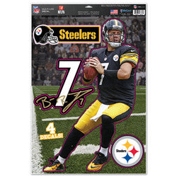"Pittsburgh Steelers Ben Roethlisberger 11""x17"" Multi-Use Decal Sheet"