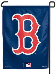 "Boston Red Sox 11""x15"" Garden Flag - ""B"" Logo"