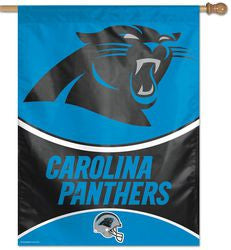 "Carolina Panthers 27""x37"" Banner - Fanz of Sportz"