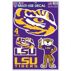 "LSU Tigers 11""x17"" Ultra Decal Sheet"