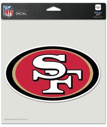 "San Francisco 49ers Die-Cut Decal - 8""x8"" Color"