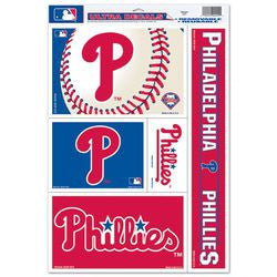 "Philadelphia Phillies 11""x17"" Ultra Decal Sheet"