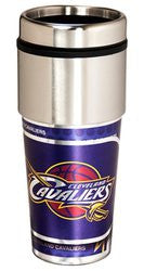 Cleveland Cavaliers 16 ounce Travel Tumbler with Metallic Graphics