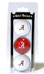 Alabama Crimson Tide 3 Pack of Golf Balls