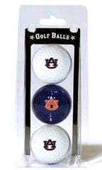 Auburn Tigers 3 Pack of Golf Balls - Fanz of Sportz