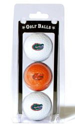 Florida Gators 3 Pack of Golf Balls