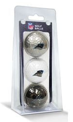 Carolina Panthers 3 Pack of Golf Balls