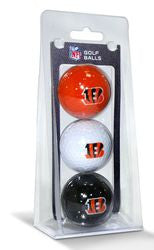 Cincinnati Bengals 3 Pack of Golf Balls - Fanz of Sportz