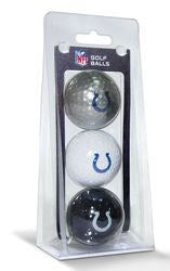 Indianapolis Colts 3 Pack of Golf Balls