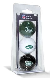 New York Jets 3 Pack of Golf Balls