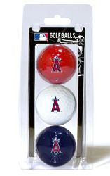 Los Angeles Angels 3 Pack of Golf Balls