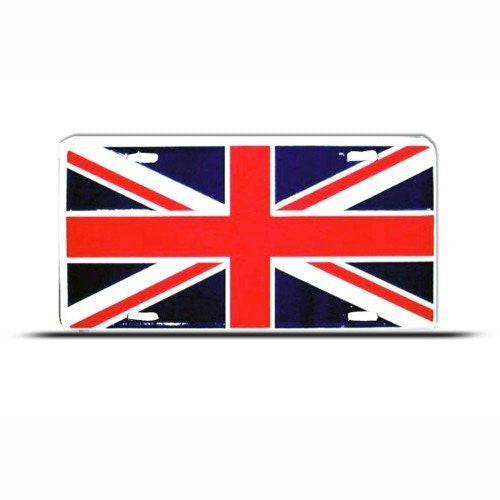 Britain Flag Union Jack License Plate