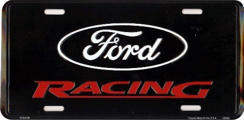Ford Racing License Plate