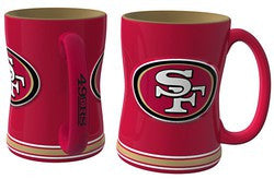 San Francisco 49ers Coffee Mug - 14oz Sculpted Relief