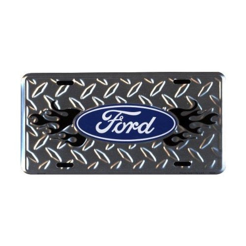 Ford Diamond Embossed License Plate