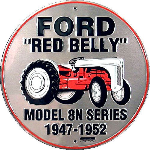 Ford Red Belly Round Sign