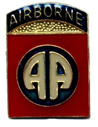 82nd Airborne Army Hat Lapel Pin