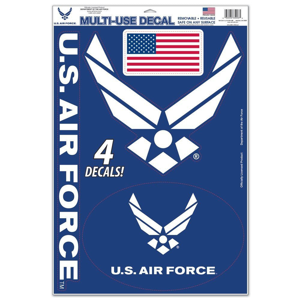 Air Force 11x17 Multi Use Decal