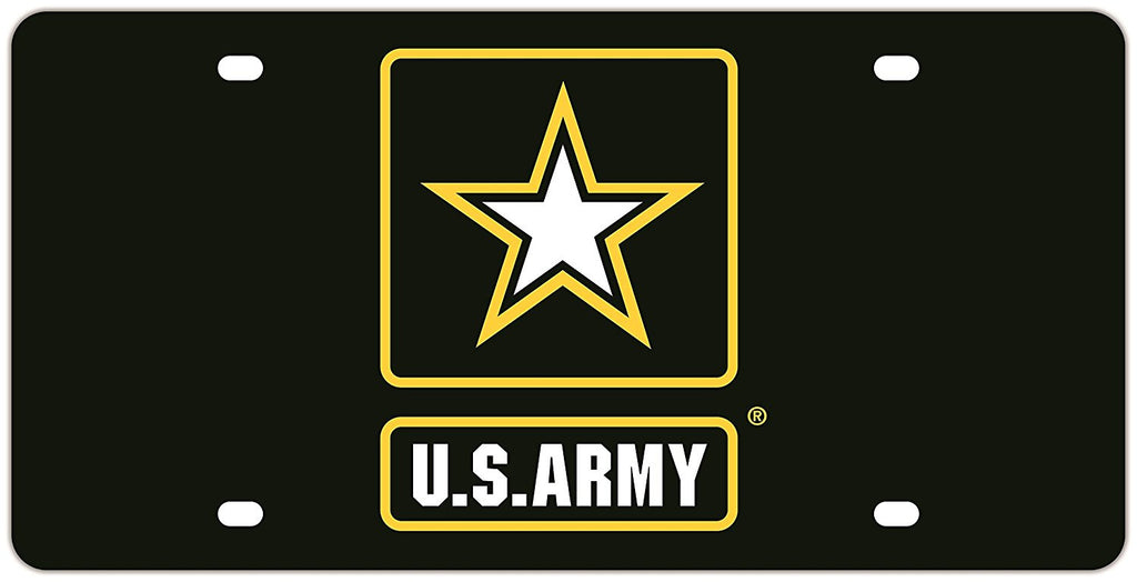 Army Acrylic Mega License Plate