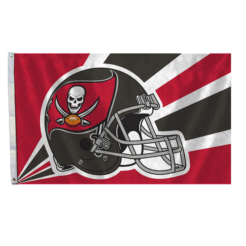 Tampa Bay Buccaneers 3'x5' Helmet Design Flag