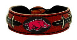 Arkansas Razorbacks Bracelet - Team Color Football