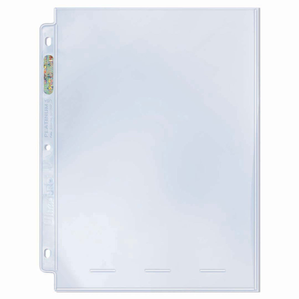 "1-Pocket Platinum Page with 8"" X 10"" Pocket (10 count)"