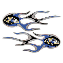 Baltimore Ravens Micro Flames Graphics - Fanz of Sportz