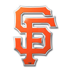 San Francisco Giants Color Auto Emblem - Die Cut