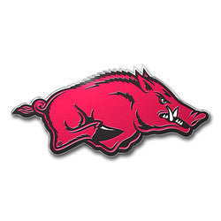 Arkansas Razorbacks Color Auto Emblem - Die Cut