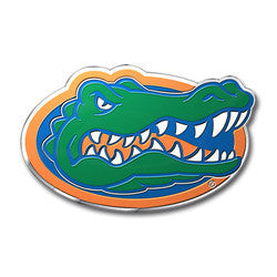 Florida Gators Color Auto Emblem - Die Cut