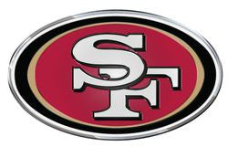 San Francisco 49ers Die Cut Color Auto Emblem