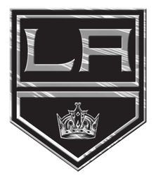 Los Angeles Kings Silver Auto Emblem