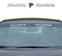"Atlanta Falcons 35""x4"" Windshield Decal - Fanz of Sportz"