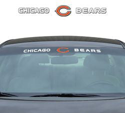 "Chicago Bears 35""x4"" Windshield Decal"