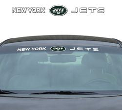 "New York Jets 35""x4"" Windshield Decal"