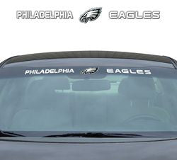 "Philadelphia Eagles 35""x4"" Windshield Decal"