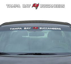 "Tampa Bay Buccaneers 35""x4"" Windshield Decal"