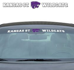 "Kansas State Wildcats 35""x4"" Windshield Decal"