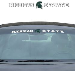 "Michigan State Spartans 35""x4"" Windshield Decal"