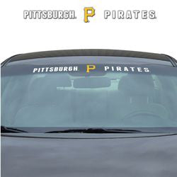 "Pittsburgh Pirates 35""x4"" Windshield Decal"