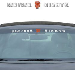 "San Francisco Giants 35""x4"" Windshield Decal"