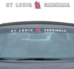 "St. Louis Cardinals 35""x4"" Windshield Decal"