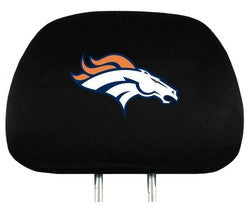 Denver Broncos Headrest Covers - Fanz of Sportz