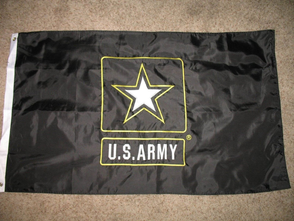 Army 3'x5' Embroidered Double Sided Flag