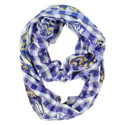 Baltimore Ravens Infinity Scarf - Plaid - Fanz of Sportz