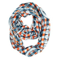 Chicago Bears Infinity Scarf - Plaid - Fanz of Sportz