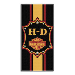 Harley-Davidson Towel - Beach - Transport Design