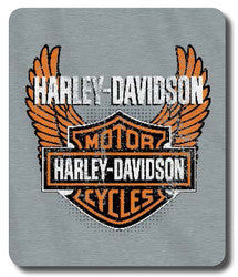 Harley-Davidson Blanket - 50x60 Sweatshirt - Biker Badge Design