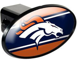 Denver Broncos Trailer Hitch Cover - Plastic - Fanz of Sportz
