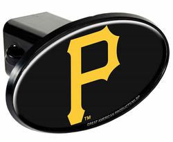 Pittsburgh Pirates Trailer Hitch Cover - Plastic